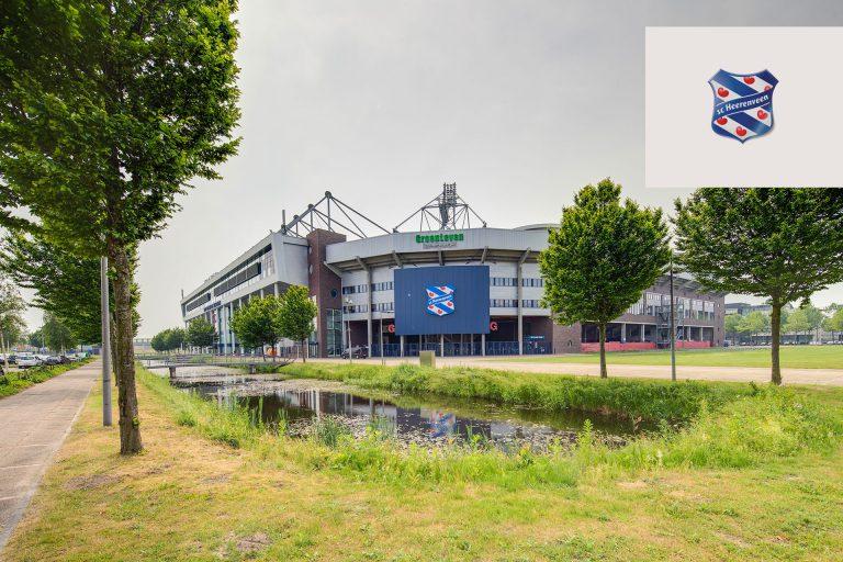 Spelershome Abe Lenstra Stadion Heerenveen